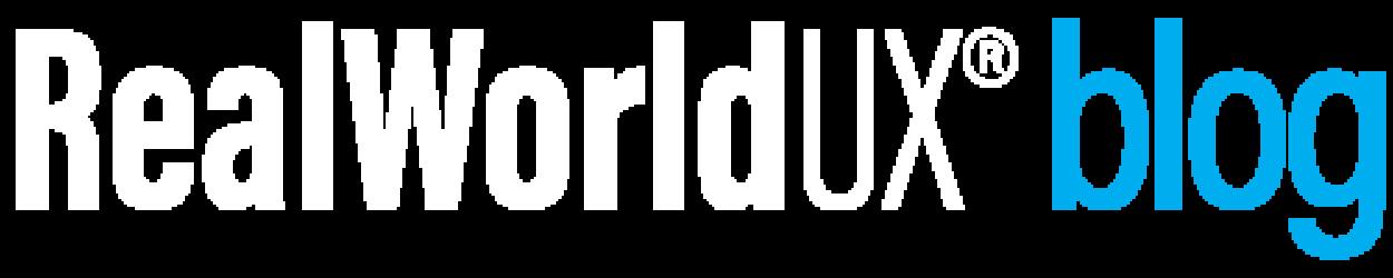 RealWorldUX blog