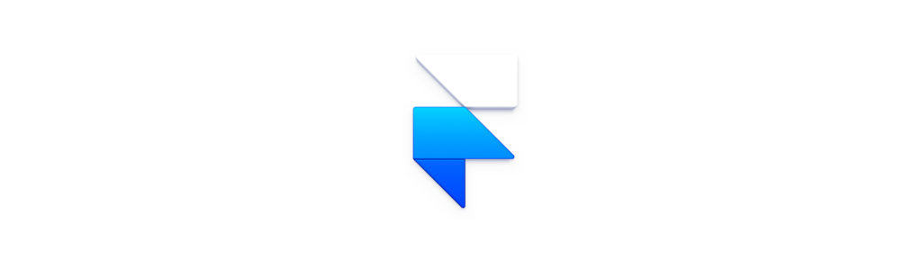 Framer X logo as a section divider for Framer X section.